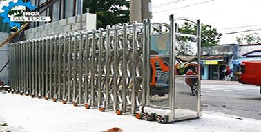 Cổng xếp điện MS-13