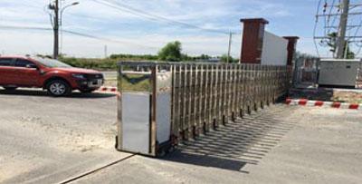 Cổng xếp điện MS-08