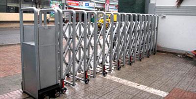 Cổng xếp điện MS-09