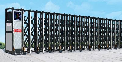 Cổng xếp nhôm MS-03