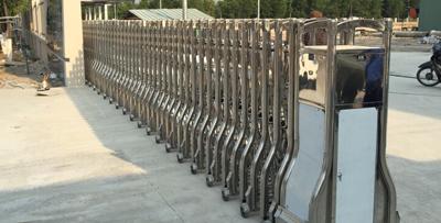 Cổng xếp điện MS-12