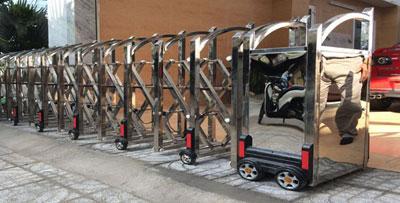 www.123raovat.com: Chuyên cung cấp - sản xuất cổng cửa xếp inox chất lượng